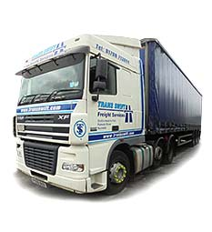 One of Transswift's DAF XF Articulated Trucks based at our Transport office in Rochdale