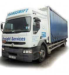 One of Transswift's Renault Trucks