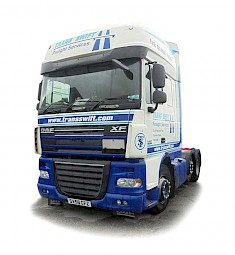Another of Transswift's DAF XF Articulated Cabs