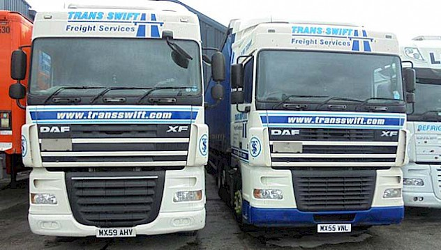 Some of our fleet vehicles at our Rochdale Depot
